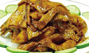 豚肉と野菜の甜麺醤和え