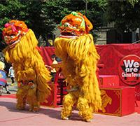Y156-横浜開港節舞獅群英会